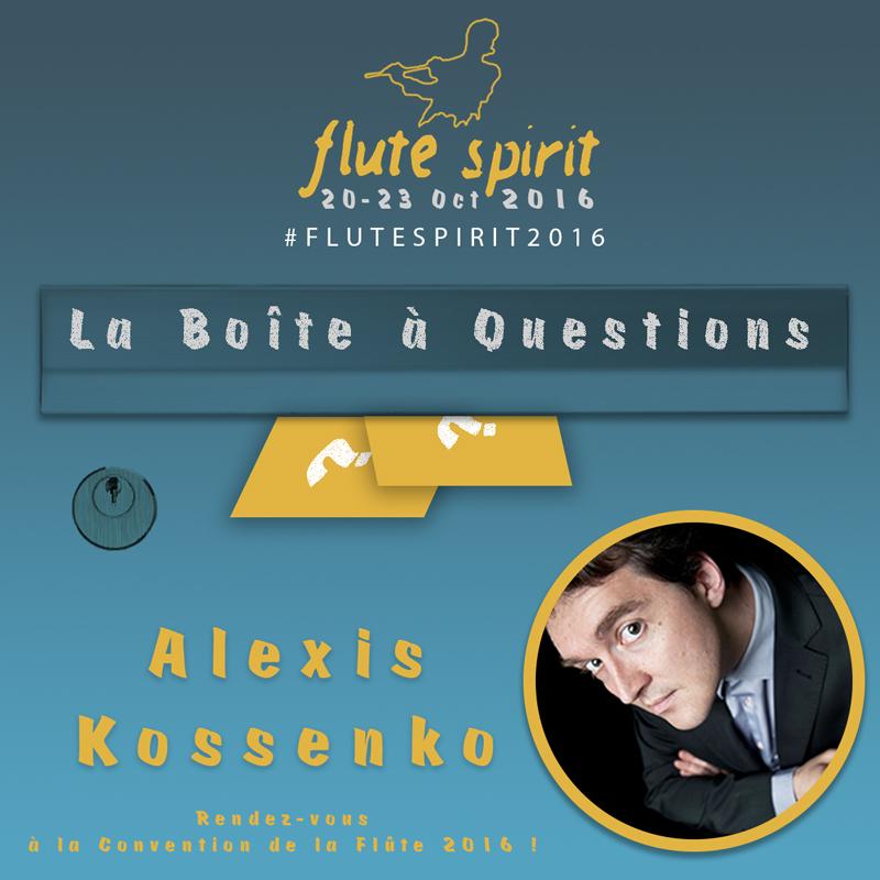 La Boite à Questions - Alexis Kossenko