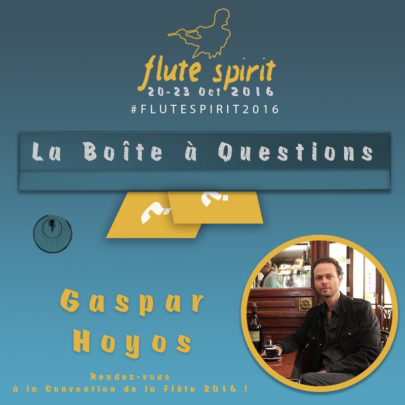 La Boite à questions Gaspar Hoyos