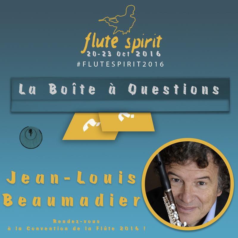 Jean-Louis Beaumadier : Boîte à Questions