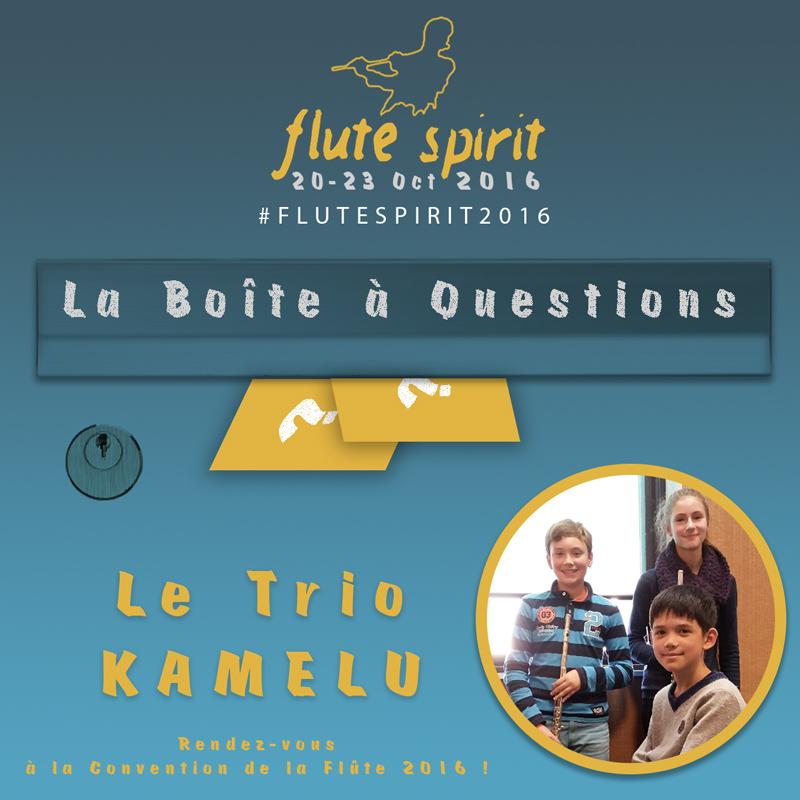 Trio Kamelu - La Boîte à Questions