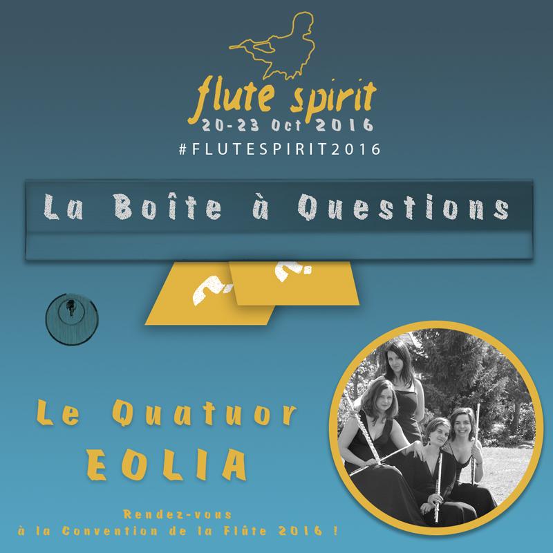Quatuor EOLIA - La Boîte à Questions