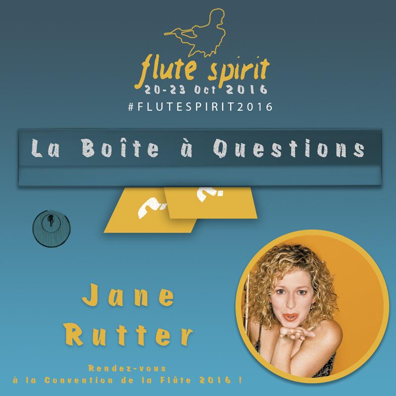 Jane Rutter - La Boite à Questions